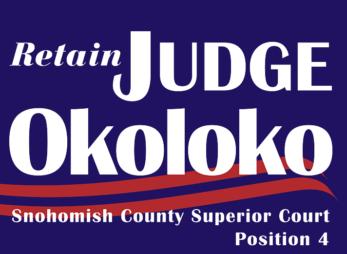 Retain Judge Okoloko
